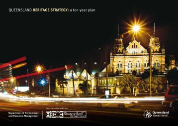 QUEENSLAND HERITAGE STRATEGY: a ten-year plan