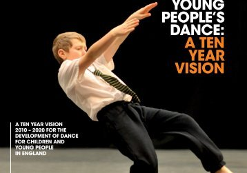 young people's dance: a ten year vision - National Dance Teachers ...