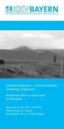 Armenien/Hajastan – reiche Geschichte, schwierige Gegenwart