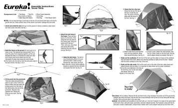 Tessel - Eureka Tent  sc 1 st  Yumpu & Assembly Instructions for the N!ergy 1310 Tent - Eureka Tent