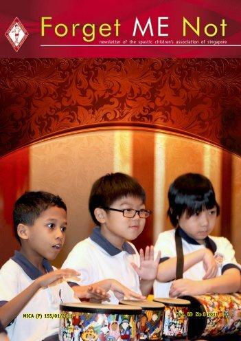September 2011 - The Spastic Children's Association of Singapore