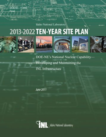 2013-2022 TEN-YEAR SITE PLAN - Idaho National Laboratory