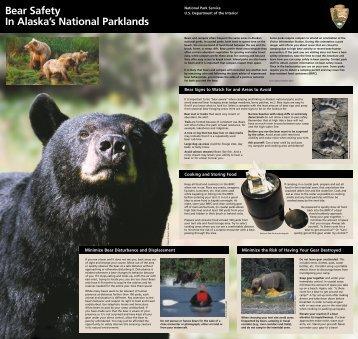 Bear Safety In Alaska's National Parklands - National Park Service