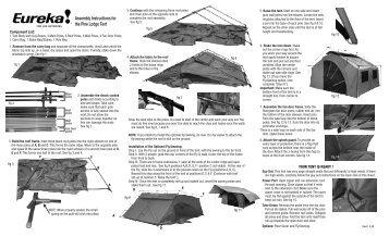Pine Lodge - Eureka Tent  sc 1 st  Yumpu & TWO ROOM CABIN TENT - rootsoutdoor.ca