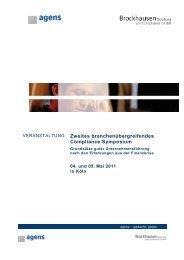 Compliance Symposium - Brockhausen Management