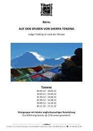 Beschreib Sherpa Tenzing 2012 - TCTT GmbH