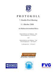 Protokoll 50m - SV Weixdorf eV