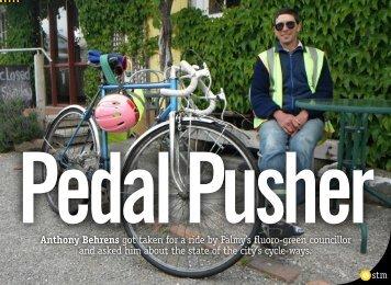 Pedal Pusher - Swampthing