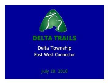 DELTA TRAILS DELTA TRAILS - Delta Township