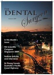 Surgeon - Singapore Dental Association