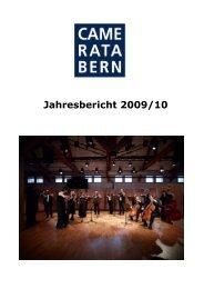 2009/10 - Camerata Bern