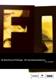 Download Programm 48. Solothurner Filmtage (PDF 9.9 MB