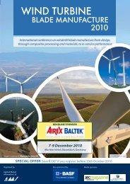 WIND TURBINE - Applied Market Information Ltd. - Amiplastics
