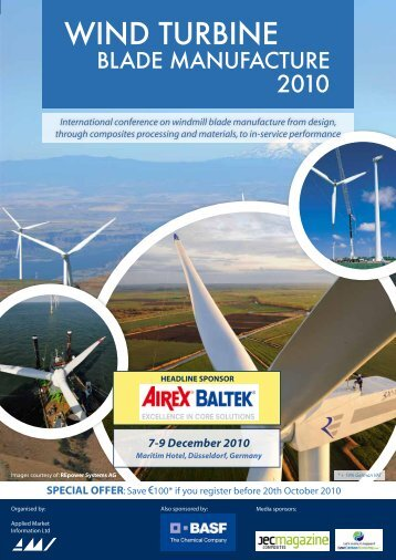 WIND TURBINE - Applied Market Information Ltd. - Amiplastics
