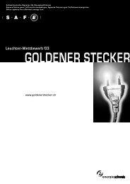 Ausschreibung - Goldener Stecker