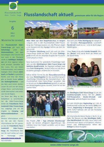 Flusslandschaft aktuell_Ausgabe 6 - in der Flusslandschaft Eider ...