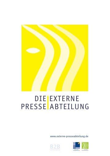 Die Externe Presseabteilung - Perspektive Mittelstand