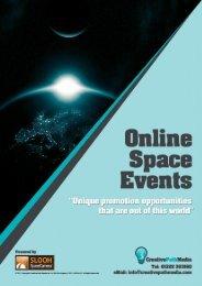 Online Space Event Brochure - Creative Path Media