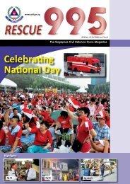 Vol 5 - No 3 - Singapore Civil Defence Force