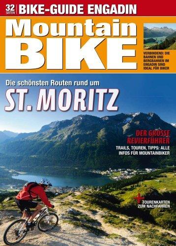 """""""Bike-Guide Engadin"""" der Fachzeitschrift - Hotel Palü"""