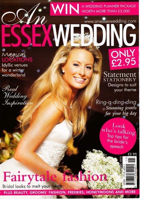 An Essex Wedding - Just Bespoke