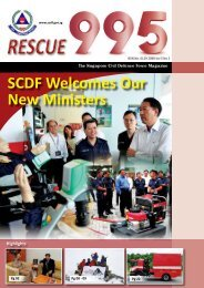 SCDF Welcomes Our New Ministers - Singapore Civil Defence Force