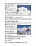 Mt. Thinchenkhan (6010 Mts) - Expedition - Adarsh Tours & Travels - Page 2