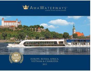 2013 Brochure - Premier River Cruises