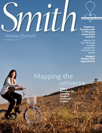 Mapping the universe - Smith Alumnae Quarterly Magazine - Smith ...