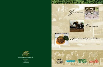 Brochure - NYRA Group Sales