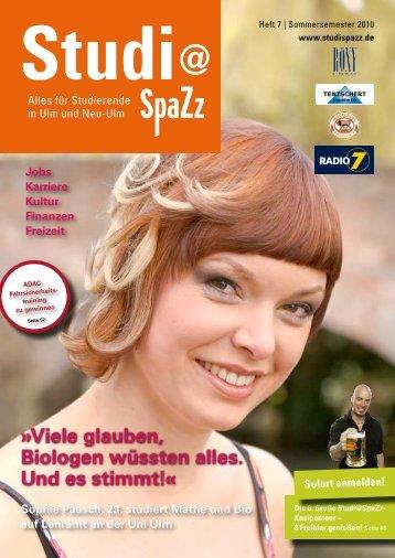 Sommersemester 2010 - KSM Verlag