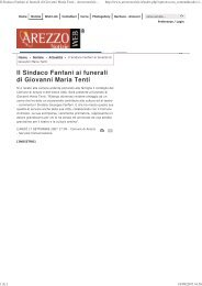 Ai funerali di Giovanni Maria Tenti - Vai alla HOME PAGE - Comune ...