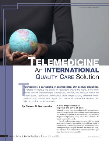 An International Quality Care Solution - AMD Global Telemedicine