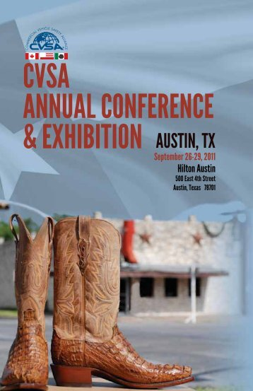 cvsa annual conference & exhibition - Commercial Vehicle Safety ...