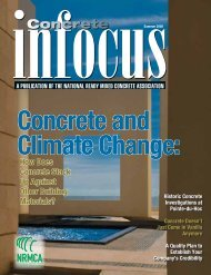 Climate Change - National Ready Mixed Concrete Association