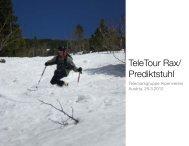 TeleTour Rax/ Prediktstuhl