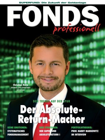Der Absolute- Return-Macher Der Absolute- Return ... - Superfund