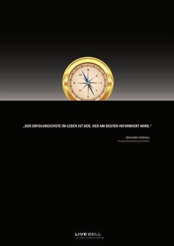 LIVE BELL Factsheet. Dabei sein, wenn der ... - FXdirekt Bank AG