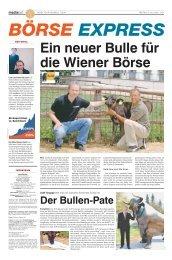 Der Bullen-Pate - Boerse Express