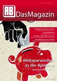 AB Das Magazin - Österreichische Apothekerbank