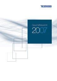Geschäftsbericht - Products - TeleTrader.com