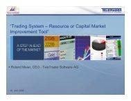 Roland Meier, CEO – TeleTrader Software AG - Montenegroberza AD