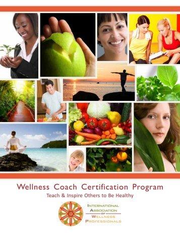 Wellness Coach Certification Program - International Association of ...