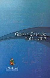 2011-2012 Catalog - DLIFLC.edu