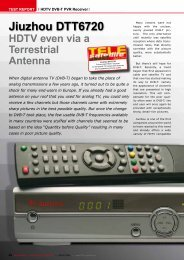 Jiuzhou DTT6720 - TELE-satellite International Magazine