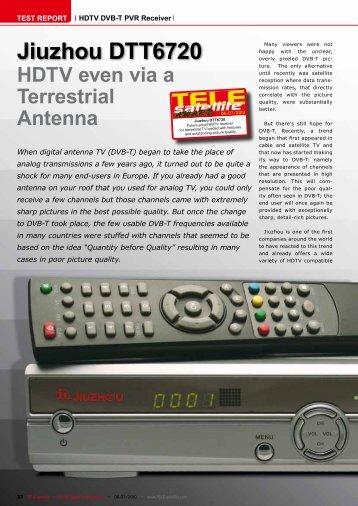 Jiuzhou DTT6720 - TELE-satellite International Magazine