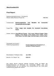 Abschlussbericht Final Report - Helmholtz-Zentrum Dresden ...