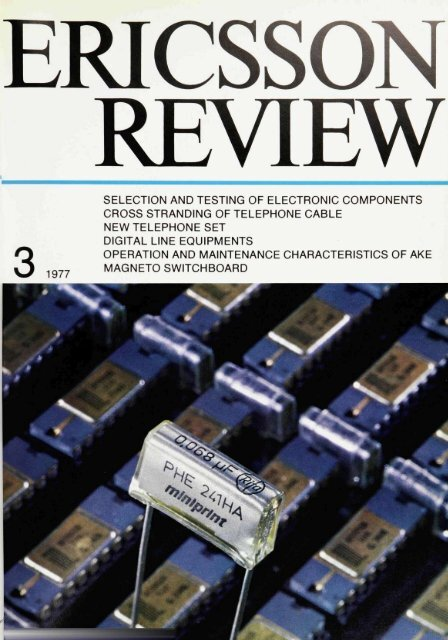 Selection and Testing of Electronic Components for LM