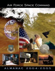 You can't go - Air Force Space Command