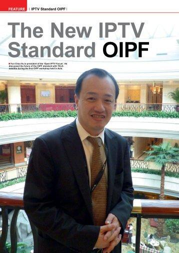 FEATURE IPTV Standard OIPF - TELE-satellite International Magazine